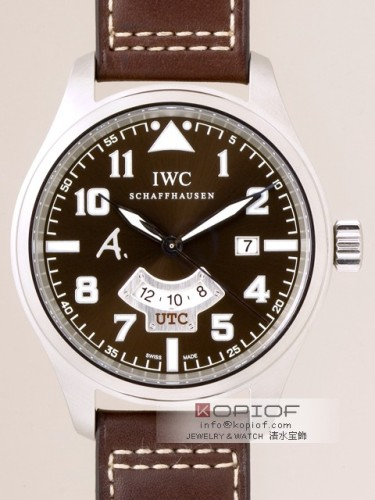 IWC パイロットウォッチ スーパーコピーIW326104 アントワーヌド サンテグジュペリ ブラウン