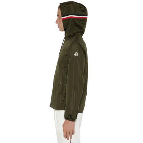 特別価格!モンクレール ジャケット コピー 20SSナイロンジャケット カーキ GRIMPEURS
