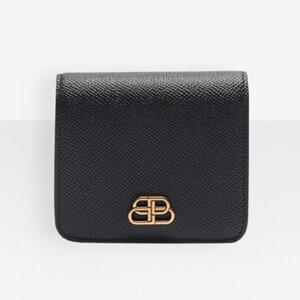 バレンシアガ 財布 コピー BALENCIAGA BBスーパーフラップコイン&カードホルダー