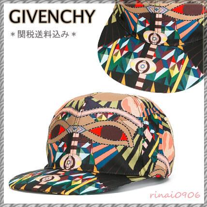 ジバンシィ 帽子コピー Crazy Cleopatra プリント キャップ マルチカラー クレイジークレオパトラの プリント