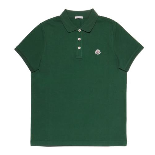 モンクレール MONCLER ポロシャツ メンズ 8340800 84556 886 半袖ポロシャツ GREEN グリーン