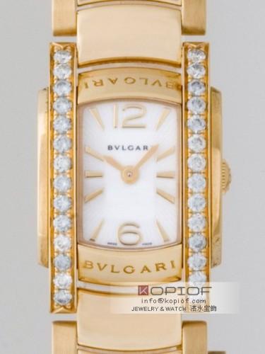 ブルガリ アショーマ スーパーコピーAA26WGD1G ケースダイヤ ホワイト