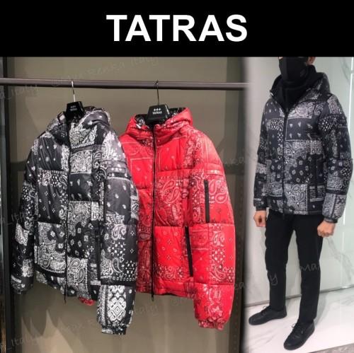 タトラス 新作【TATRAS】コピーAGRIPPAバンダナ柄リバーシブルダウンジャケット