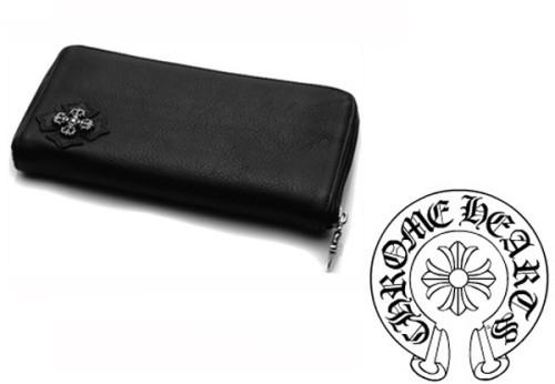 クロムハーツ 財布 コピーフィリグリープラス ブラック ウォレット