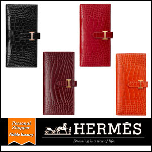 HERMES エルメス偽物長財布 / 《べアン》スフレ H047208CC8V