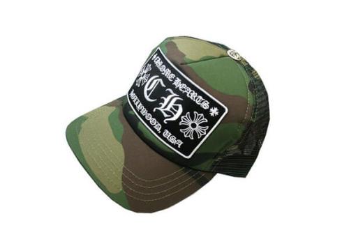 クロムハーツ 帽子 コピー 迷彩 帽子 トラッカーキャップ