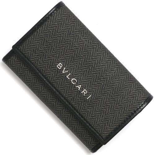 ブルガリ キーケース コピー ウィークエンド グレー ブラック 32583 メンズ