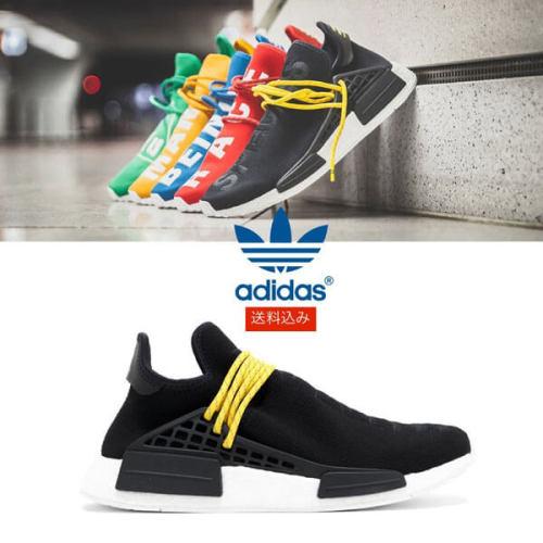 """アディダス コピー【adidas】超限定☆ PW HUMAN RACE NMD """"PHARRELL"""" 多色"""