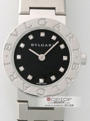 ブルガリ ブルガリブルガリ スーパーコピーBB23SS/12 ブラック