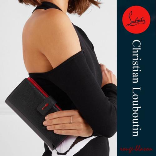 クリスチャンルブタン コピー 財布 Christian Louboutin Paloma ウォレット ブラック