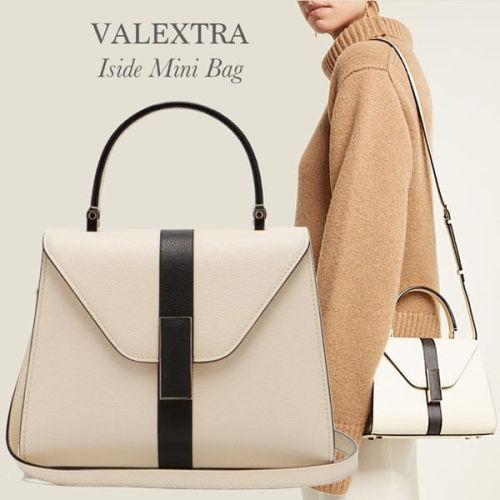 VALEXTRA Iside Mini ヴァレクストラ スーパーコピー ミニ ショルダー/ ハンドバッグ