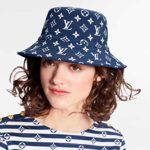 ルイヴィトン帽子コピーEscale モノグラム バケットハット