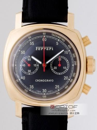 パネライ フェラーリ スーパーコピークロノグラフ FER00024 45mm 世界限定50本 ブラック