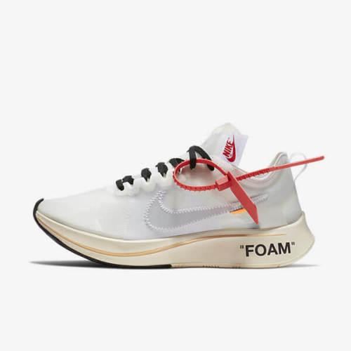 ナイキ スニーカー 偽物 Off-White Nike Zoom Fly オフホワイト ナイキ ズームフライ AJ4588 100