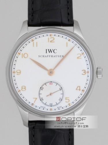 IWC ポルトギーゼ スーパーコピーIW545408 ハンドワインド シルバー