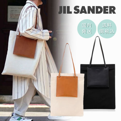 2020SS新作JIL SANDER ジルサンダー 偽物キャンバス ポケット