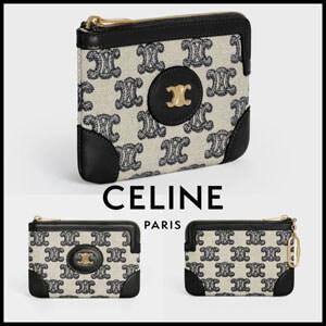 【CELINE】コピーコイン & カードケース / トリオンフエンブロイダリー 10G682CR1.38NO