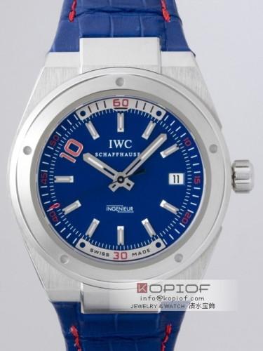 IWC インヂュニア スーパーコピーオートマティック IW323403 ジダンモデル ブルー