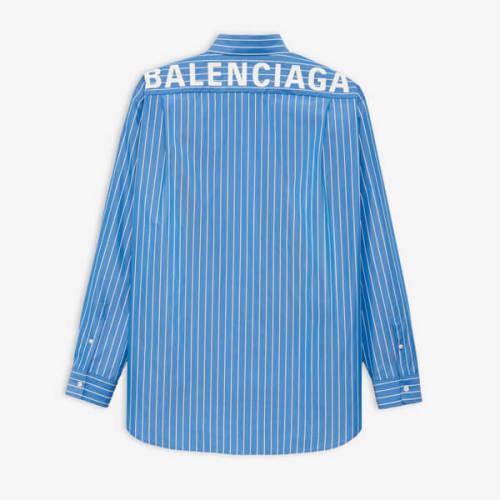バレンシアガ 偽物 BALENCIAGA ストライプ シャツ