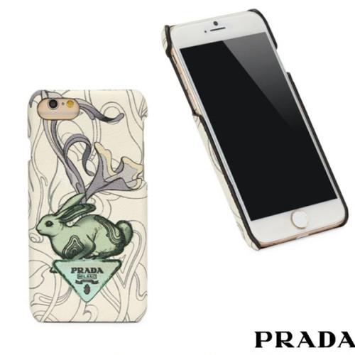 プラダ iPhone7 iPhone8 スマホケース ラビット スマホケース・テックアクセサリー スーパーコピー