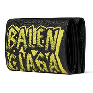 バレンシアガ 財布 コピー BALENCIAGA グラフィティ ヴィル ミニウォレット