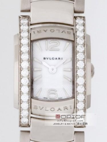 ブルガリ アショーマ スーパーコピーAAW26WGD1G ケースダイヤ ホワイト