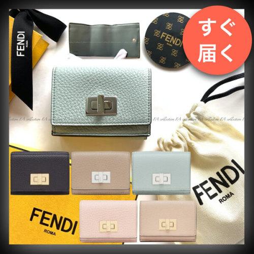 FENDI フェンディ ピーカブー コピー セレリア マイクロ 三つ折り財布
