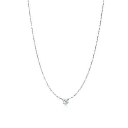 ティファニーコピー ネックレス Tiffany & Co ペンダント 0.03ct/Diamonds by the Yard Pendant