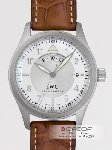 IWC パイロットウォッチ スーパーコピースピットファイヤー IW325107 UTC シルバー