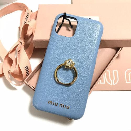 miumiu iphoneケース コピー ハートクリスタル リング iPhone11 Proケース カバー 5ZH058