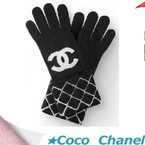 シャネル手袋スーパーコピーCHANEL CCロゴ ニットグローブ 手袋