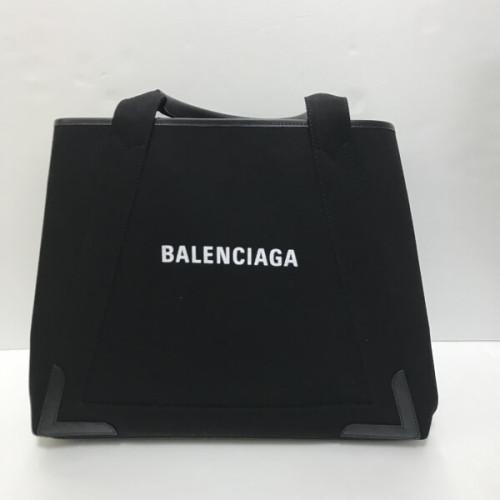 バレンシアガ トート 偽物 ロゴ メンズ ネイビーカバトートバッグM 3399369DH1N1090