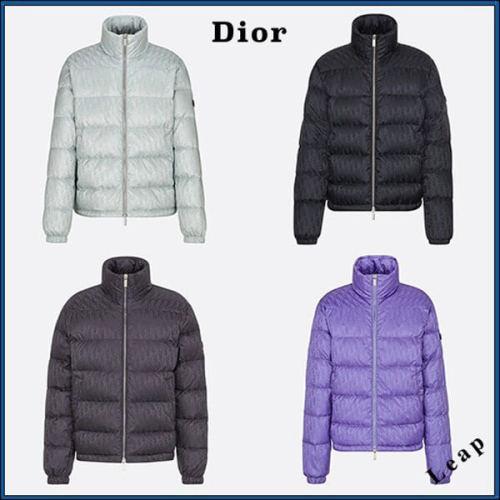 21春先行発売!【Dior】DIOR OBLIQUE スタンドカラー ダウンジャケット 偽物 4color