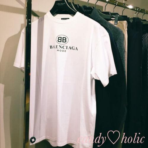 バレンシアガ t シャツ コピー 'BB Mode'ホワイト 女性にも
