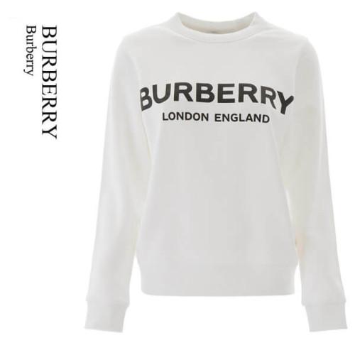 バーバリー トレーナー コピー BURBERRY Logo print cotton sweatshirt 8011443A1464