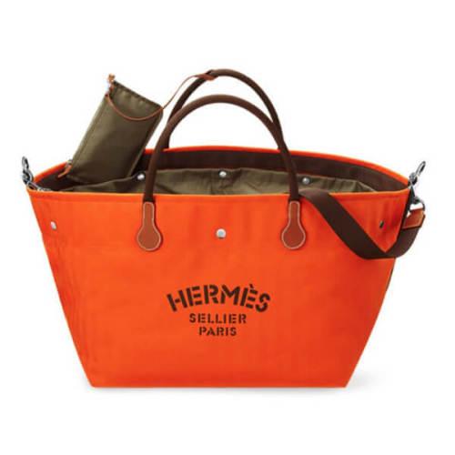 エルメススーパーコピー HERMES カヴァリエバッグ トート オレンジ H060752CAAD