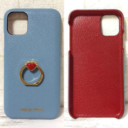 miumiu スマホケース コピー iphoneケース コピー iphone 11pro 11proMAX ケースハート リング付