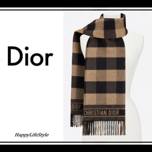 やさしい気持ち◇Check'N'Dior ストールコピー ◇Dior