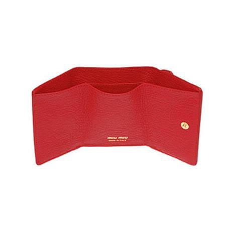 miumiu 財布 コピー ミュウミュウ ラブレター 財布 ハートレター三つ折りミニウォレット 5MH021_2BC3_F0637