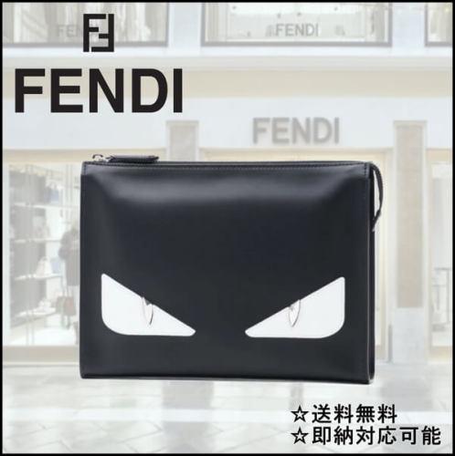 フェンディ クラッチバッグ コピー FENDI モンスター Monster Eye