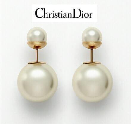 大人気Christian Dior ディオール ピアス コピー トライバルボール