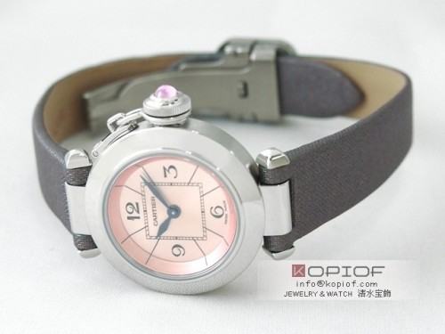 カルティエ パシャ スーパーコピーW3140026 トワルストラップ ピンク