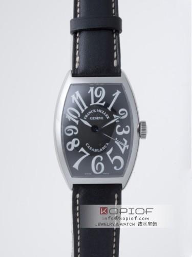 フランクミュラー カサブランカ スーパーコピー5850CASA AC AC ブラック皮 ブラック