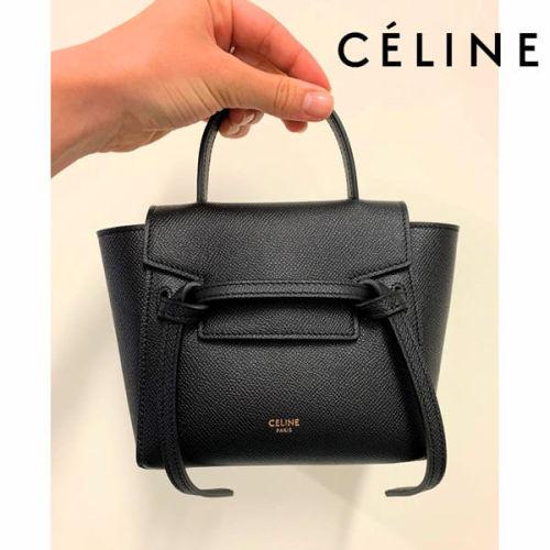 【CELINE】新作☆セリーヌ ベルトバッグ コピー ミニバッグ PICO Belt Bag ピコ ベルト バッグ 194263ZVA.39NO