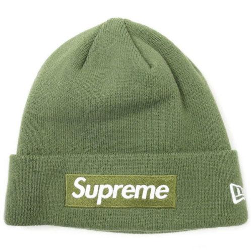 シュプリーム ニット帽 偽物 ロゴビーニー Supreme New Era Box Logo Beanie