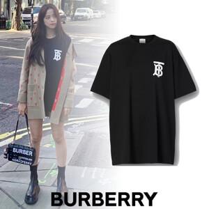 バーバリー Tシャツ コピー BLACKPINK ジス着用♡【Burberry】モノグラムロゴTシャツ