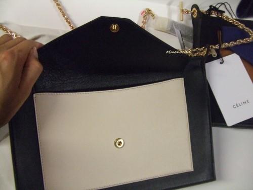 セリーヌ トリオバッグ コピーポケット チェーンショルダー 175083UNA.11SR