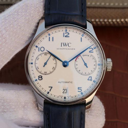 IWC ポルトギーゼオートマチック IW500705 アラビア シースルーバック