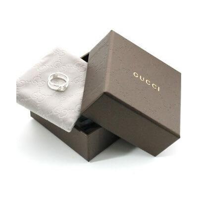GUCCI リング 偽物 Gチャーム 指輪 レディース/メンズシルバー 298036 J8400 8106