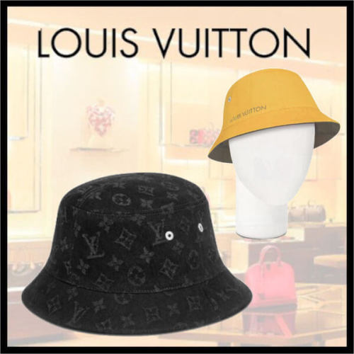 【20AW 新作】ルイヴィトン キャップ 偽物 LOUIS VUITTON CHAPEAU MONOGRAM DENIM M76208